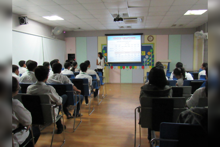 C.P. Goenka International School, Thane - Guest Lecturer on Tooth Anatomy