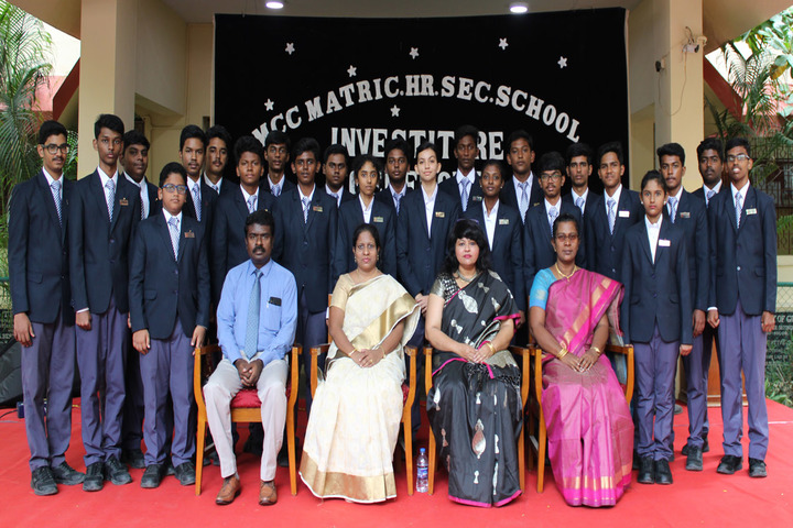 Madras Christian College Matriculation Higher Secondary School-Investiture Ceremony