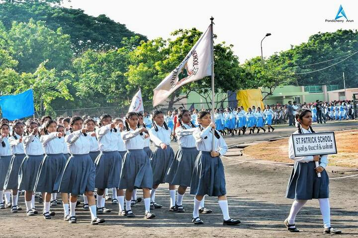 St Patrick Matriculation Higher Secondary School-Sports Day