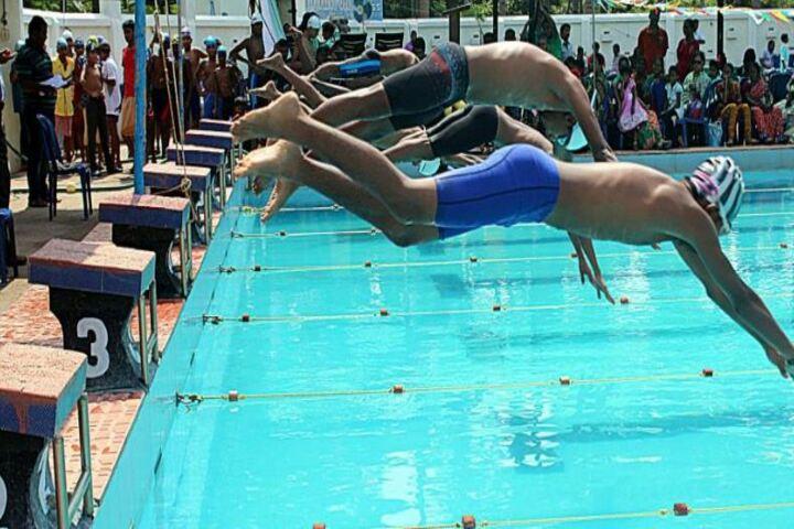 St Patrick Matriculation Higher Secondary School-Swimming Pool