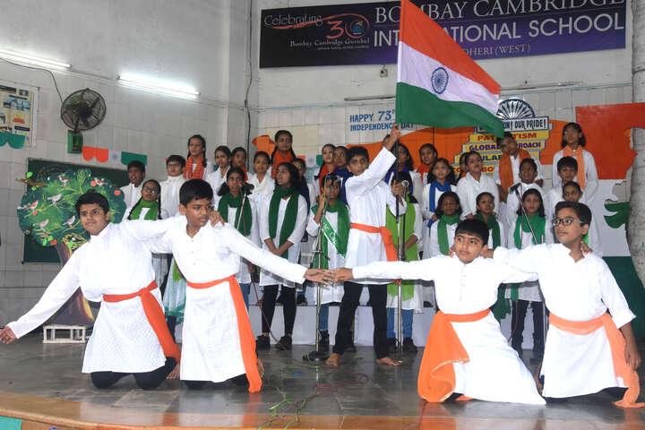 Bombay Cambridge International School-Independence Day Celebration