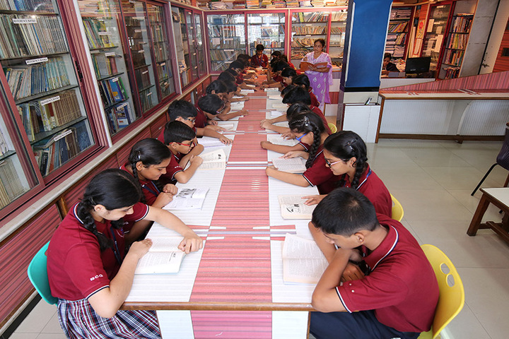 Bombay Cambridge International School-Library