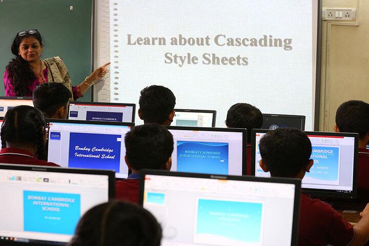 Bombay Cambridge International School-Smart Class Room