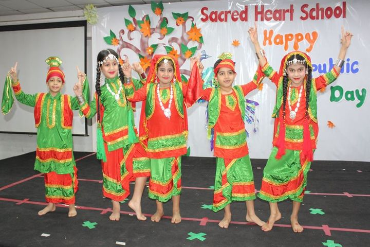 Sacred Heart School-Republic Day Celebration