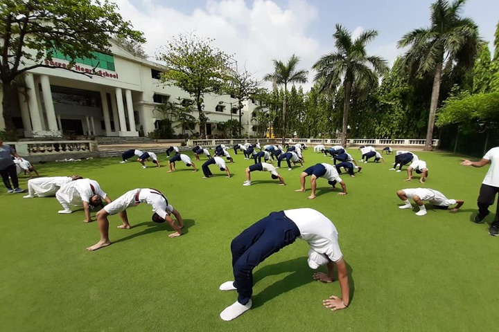 Sacred Heart School-Yoga