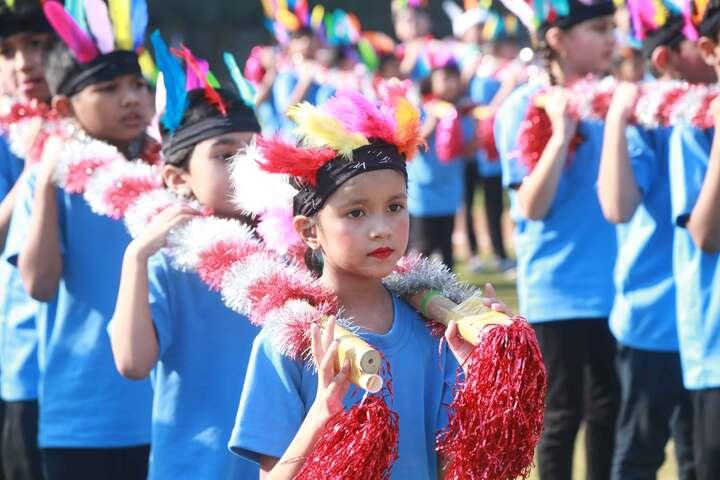 Dr S Radhakrishnan International School-Sports Day
