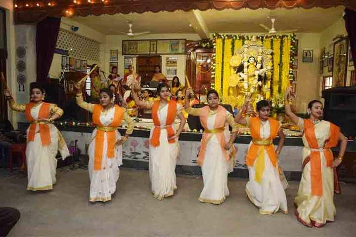 Bidya Bharati Girls High School-Durgaastami Celebration