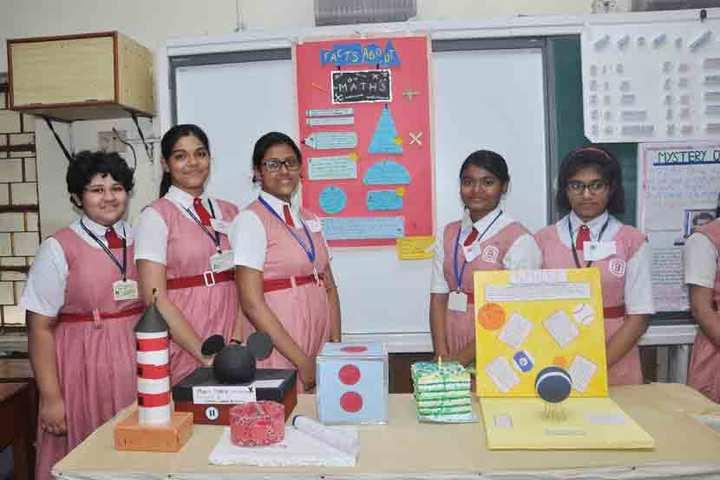 Bidya Bharati Girls High School-Maths Exhibition