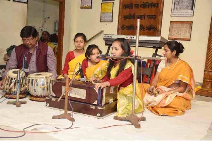 Bidya Bharati Girls High School-Music Competition