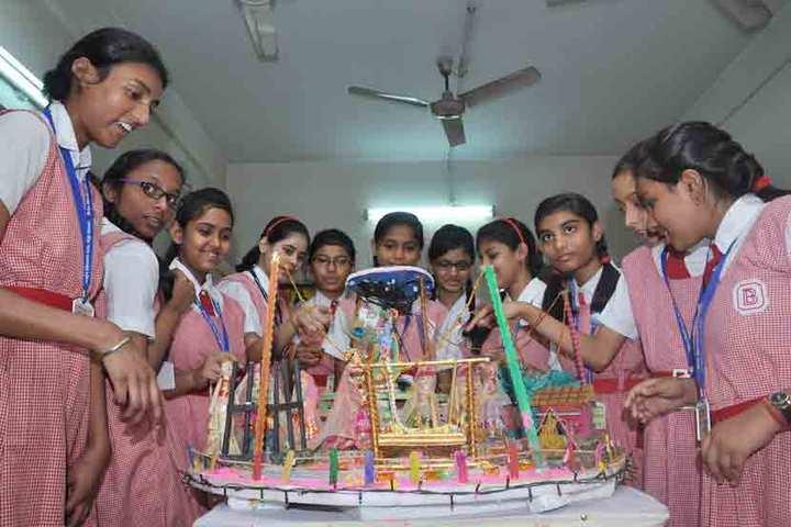 Bidya Bharati Girls High School-School Exhibition