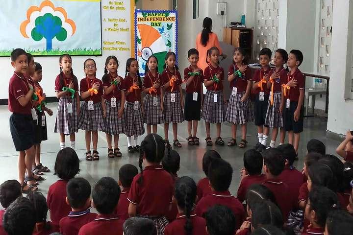 Dr S Radhakrishnan International School-Independance Day