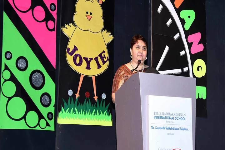 Dr S Radhakrishnan International School-Speech