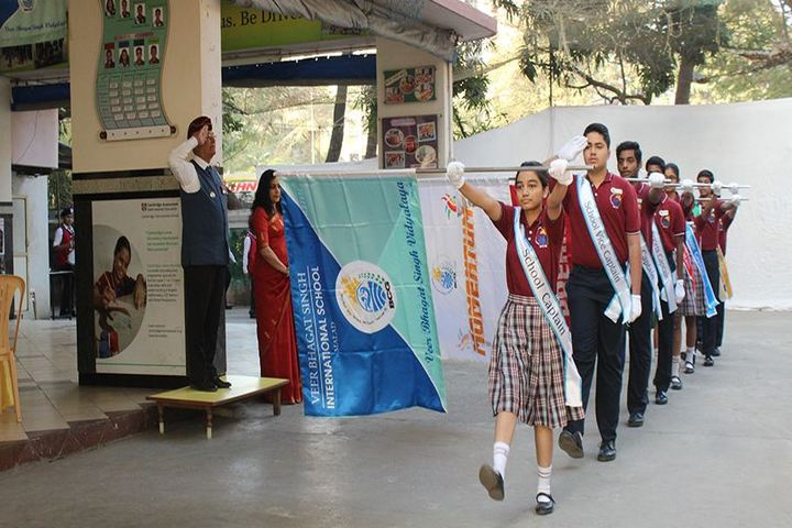 Veer Bhagat Singh International School-March past