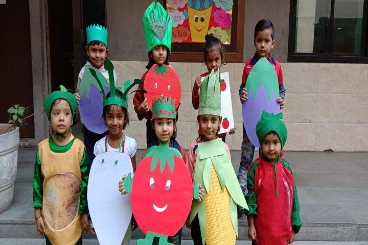 Kumkum School-Vegetable Day