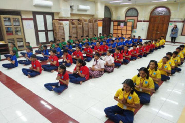 The Modern School-Yoga Day