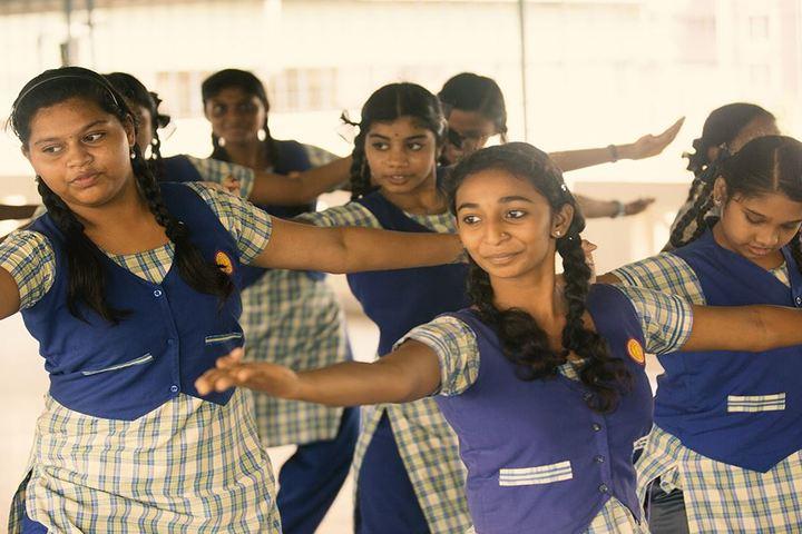 AVM Rajeshwari The School-Dance