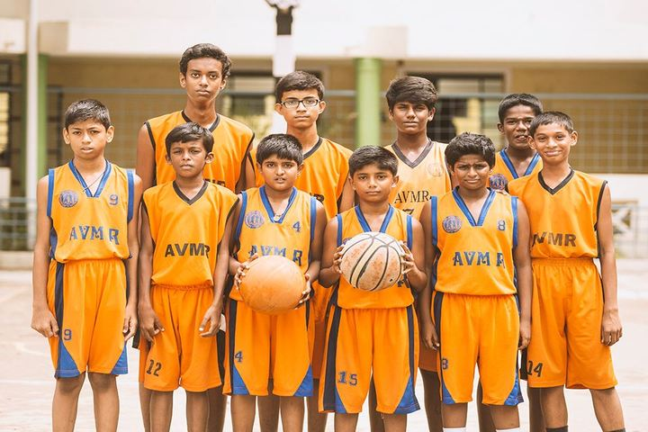 AVM Rajeshwari The School-Sports