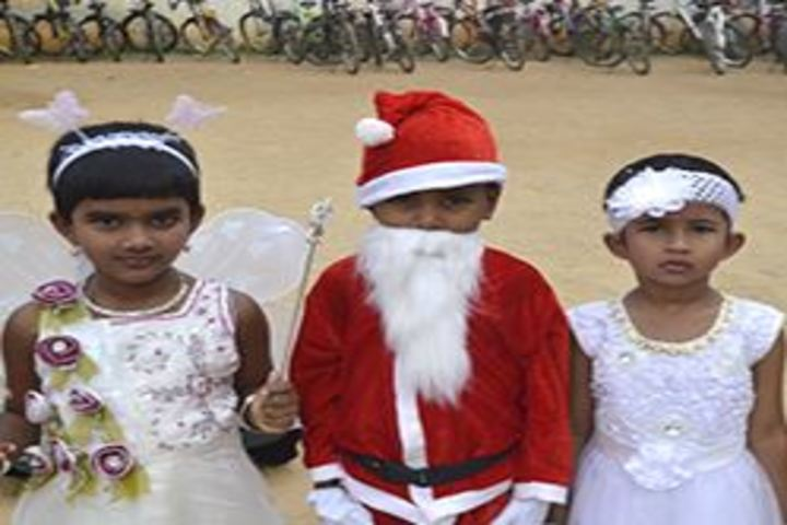 Jnana Vikas Public School-Christmas Celebrations