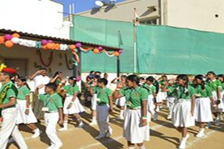 Jnana Vikas Public School-March Past