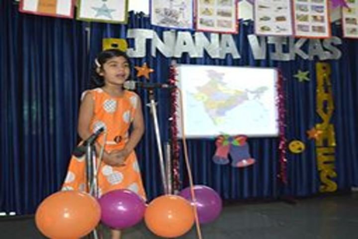 Jnana Vikas Public School-Singing