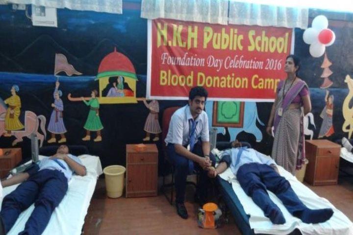 H K H Public School-Blood Donation Camp