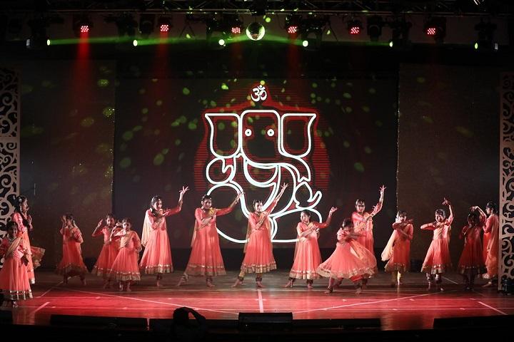 CP Goenka International School-Group Dances