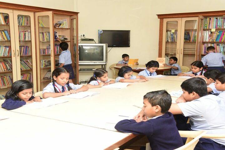 SBOA Public School-Library