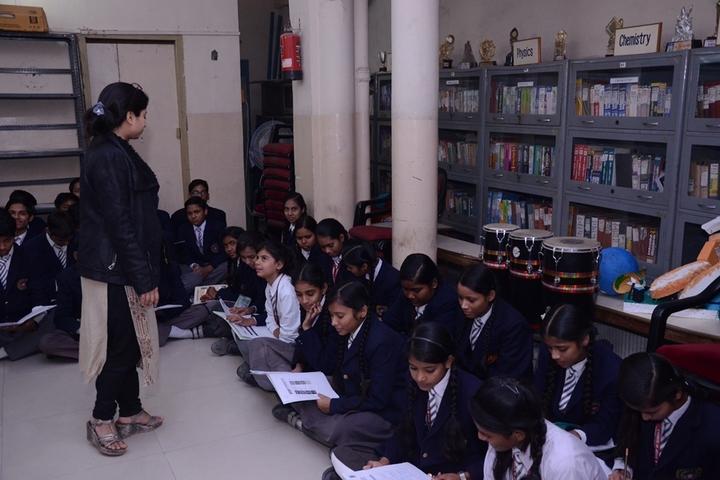 NLKVM Inter College-Library