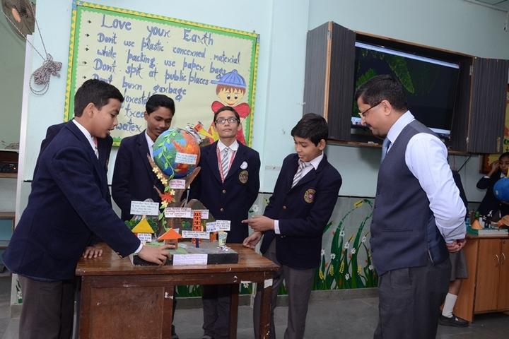 NLKVM Inter College-School Exhibition
