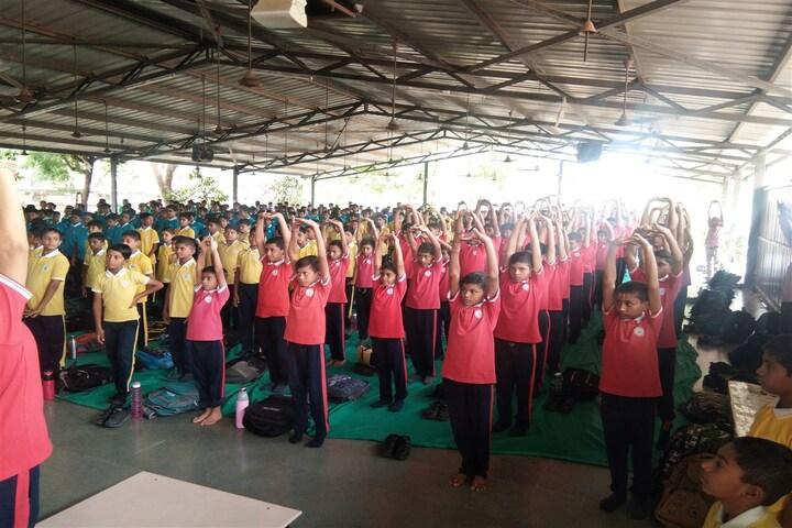 BAPS Swaminarayan Vidyamandir-Yoga Hall