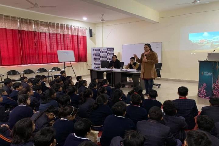 Seth MR Jaipuria School-workshop