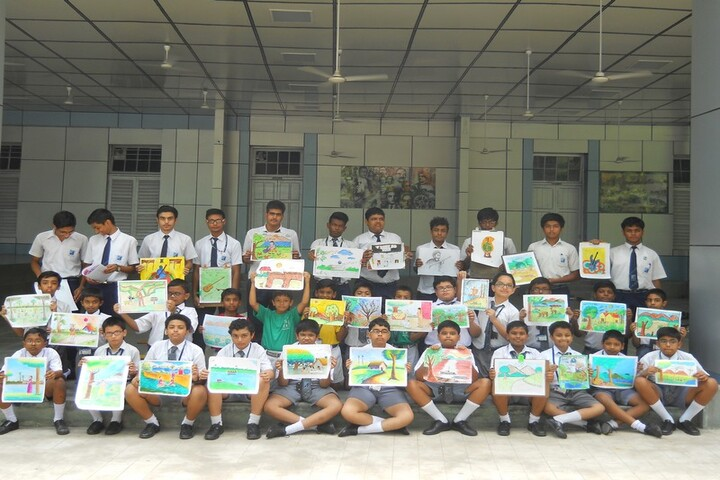 St Lawrence High School-Drawing Competition