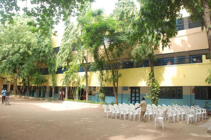 Kaligi Ranganathan Montford Matric Heigher Secondary School-Campus View