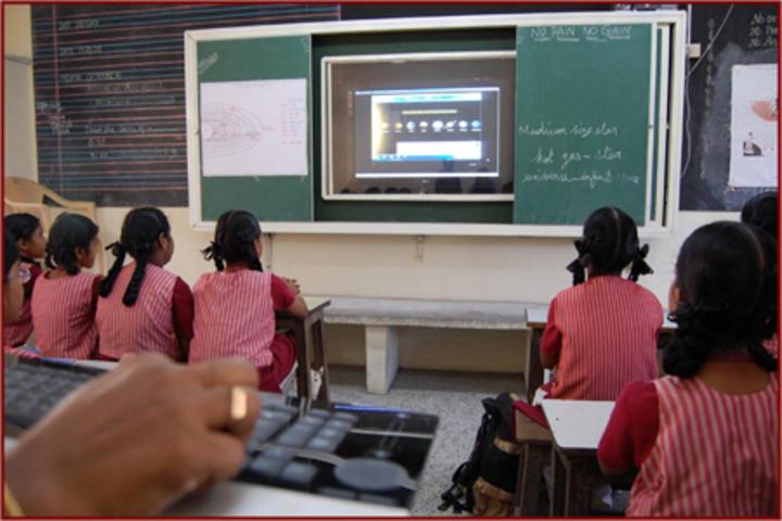 Kaligi Ranganathan Montford Matric Heigher Secondary School-Classroom
