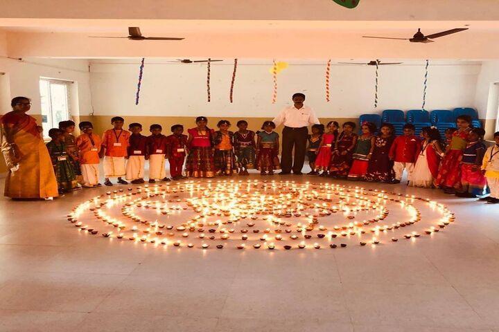 Kaligi Ranganathan Montford Matric Heigher Secondary School-Festival Celebration