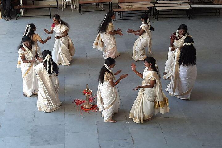 Kaligi Ranganathan Montford Matric Heigher Secondary School-Onam Celebration