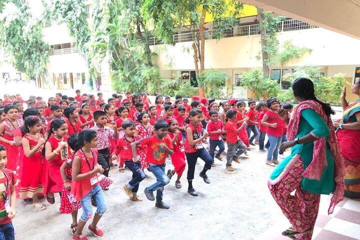 Kaligi Ranganathan Montford Matric Heigher Secondary School-Red Day