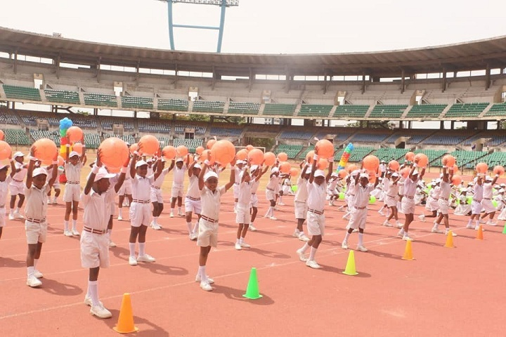 Kaligi Ranganathan Montford Matric Heigher Secondary School-Sports Day