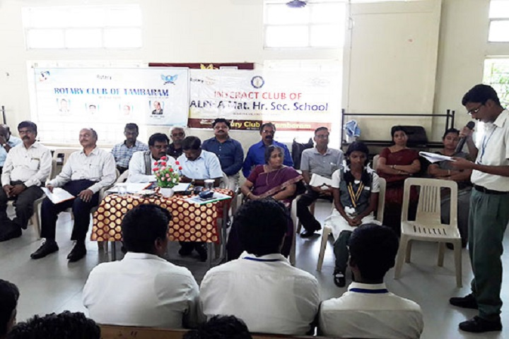 Alpha Matriculation Higher Secondary School-Interact Club