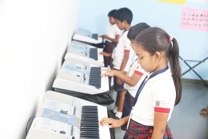 Alpha international School - Music Room