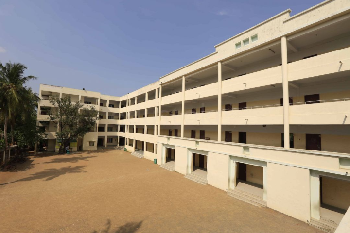 Alpha Matriculation Higher Secondary School - School Building