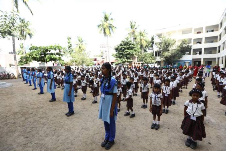 Alpha international School -Morning Assembly