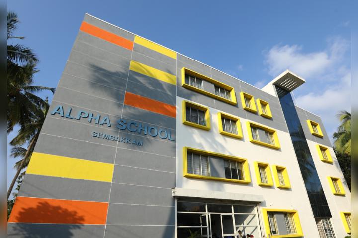 Alpha international School, Sembakkam - School Building