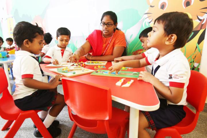 Alpha international School - Learning Activities