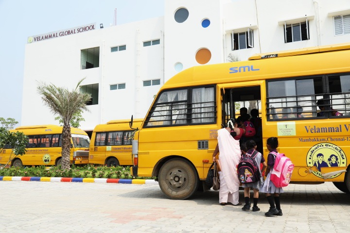 Velammal Global School-Bus