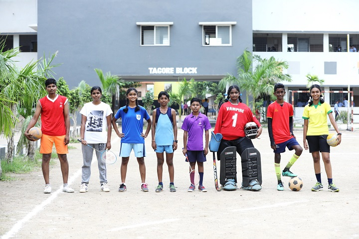 Velammal Global School-Sports Team