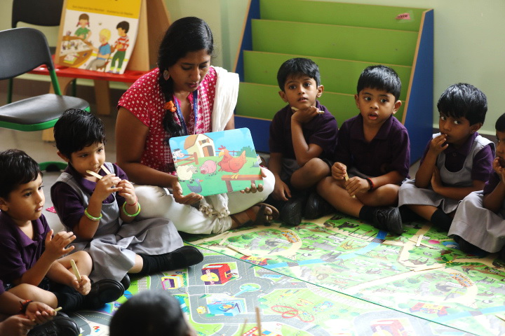 Velammal Global School-Story Telling