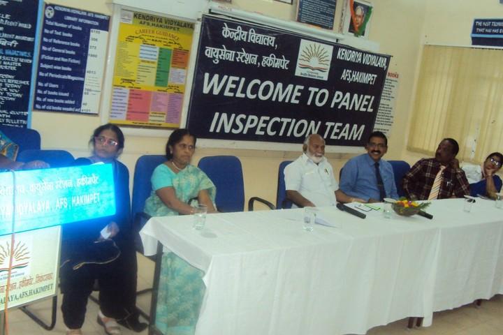 Kendriya Vidyalaya-Panel Inspection