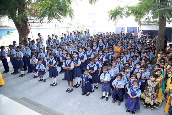 Prasad Upper Primary School-Morning Assembly