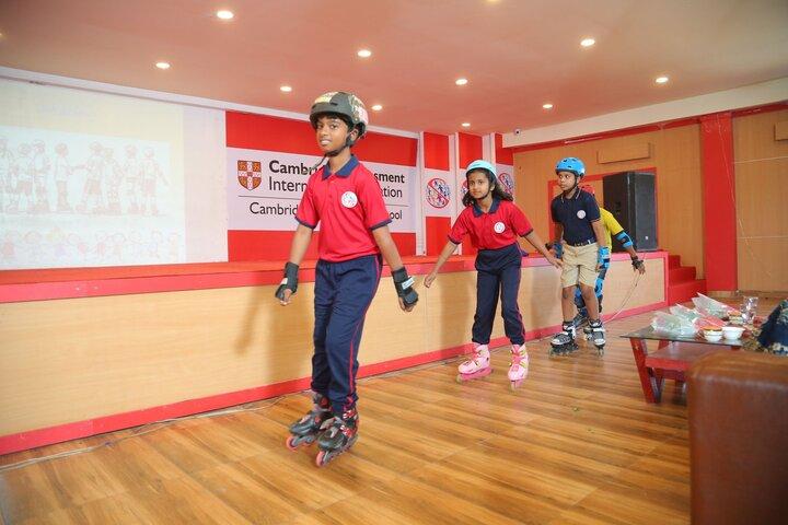 Solitaire Global Schools-Skating